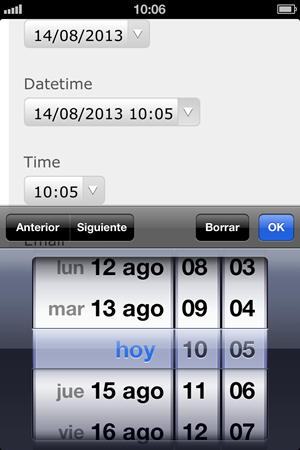 type datetime